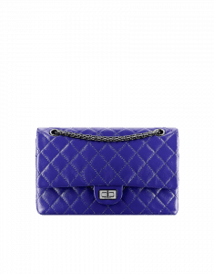 Chanel Blue 2.55 Reissue 226 Flap Bag - Fall 2014 Act 2