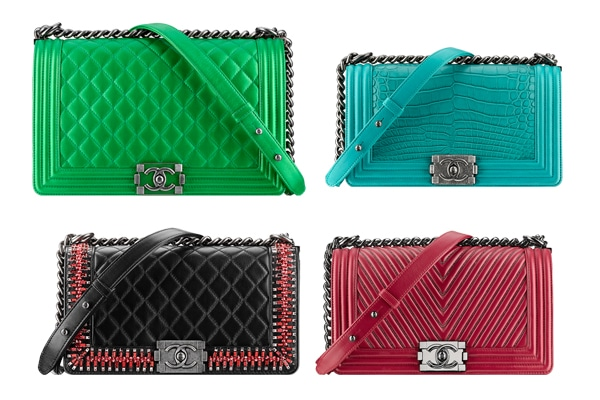 5d9dacd9c698 Chanel Boy Bags from Fall   Winter 2014 Collection Act 2