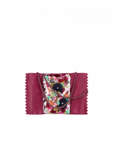 Chanel Dark Pink Candy Bag - Fall 2014 Act 2