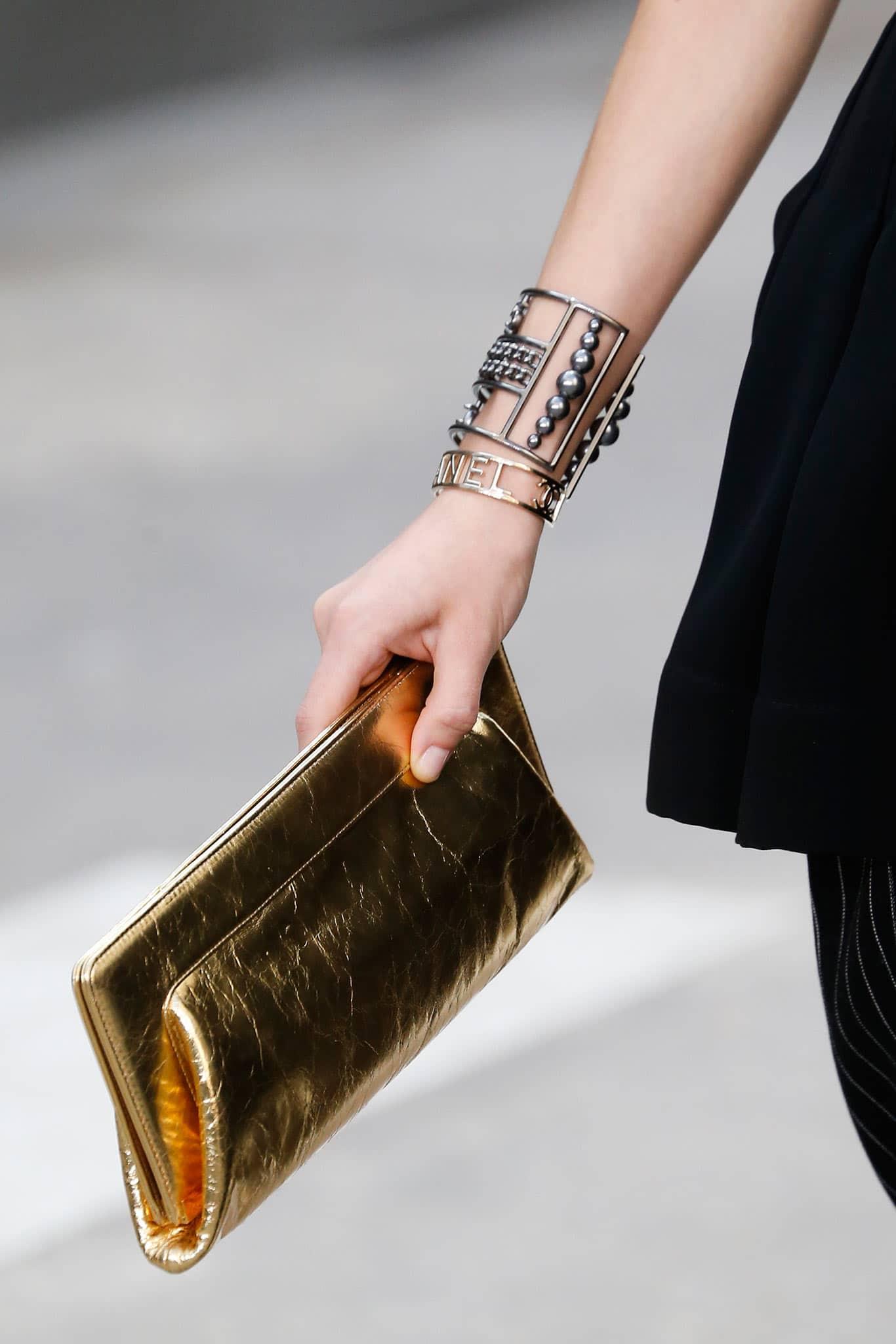 Chanel Clutch Bag 2015 Chanel Gold Clutch Bag