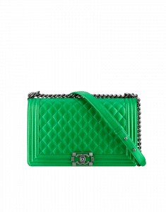 Chanel Green Boy Flap Large Bag - Fall 2014 Act 2