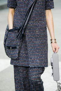 Chanel Multicolor Tweed Messenger Bag - Spring 2015