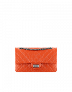 Chanel Orange 2.55 Reissue Flap 225 Bag - Fall 2014 Act 2