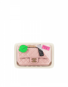 Chanel Pink Classic Flap with Tray Packaging Small Bag - Fall 2014 Act 2