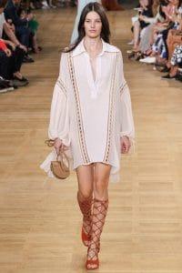 Chloe Beige Drew Mini Bag - Spring 2015