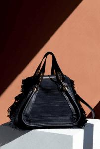 Chloe Black Fringe Paraty Bag - Spring 2015
