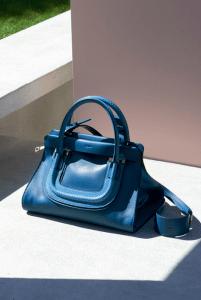 Chloe Blue Python Everston Bag - Spring 2015