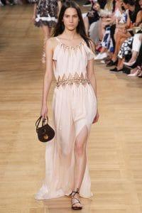 Chloe Brown Drew Mini Bag - Spring 2015