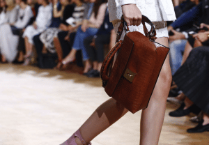 Chloe Brown Duffle Bag - Spring 2015