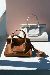 Chloe Tan/Ivory Everston Bag - Spring 2015