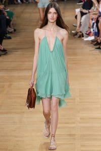Chloe Terracota Faye Bag - Spring 2015