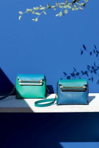 Chloe Turquoise/Blue Clare Shoulder Bag - Spring 2015