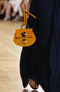 Chloe Yellow Drew Mini Bag - Spring 2015