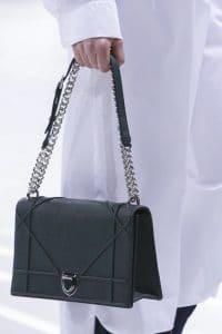 Dior Black Flap Bag - Spring 2015