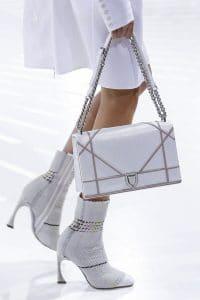Dior White Python Flap Bag - Spring 2015