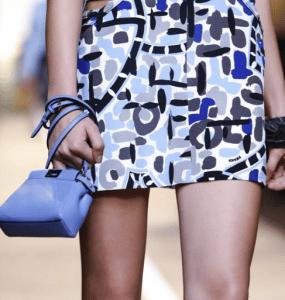 Fendi Light Blue Peekaboo Micro Bag - Spring 2015