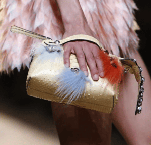 Fendi Yellow By The Way Python Bag - Spring 2015
