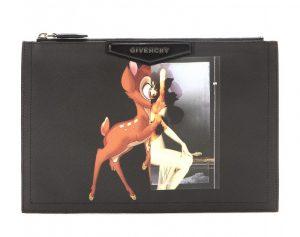 Givenchy Bambi Antigona Zipped Clutch Bag