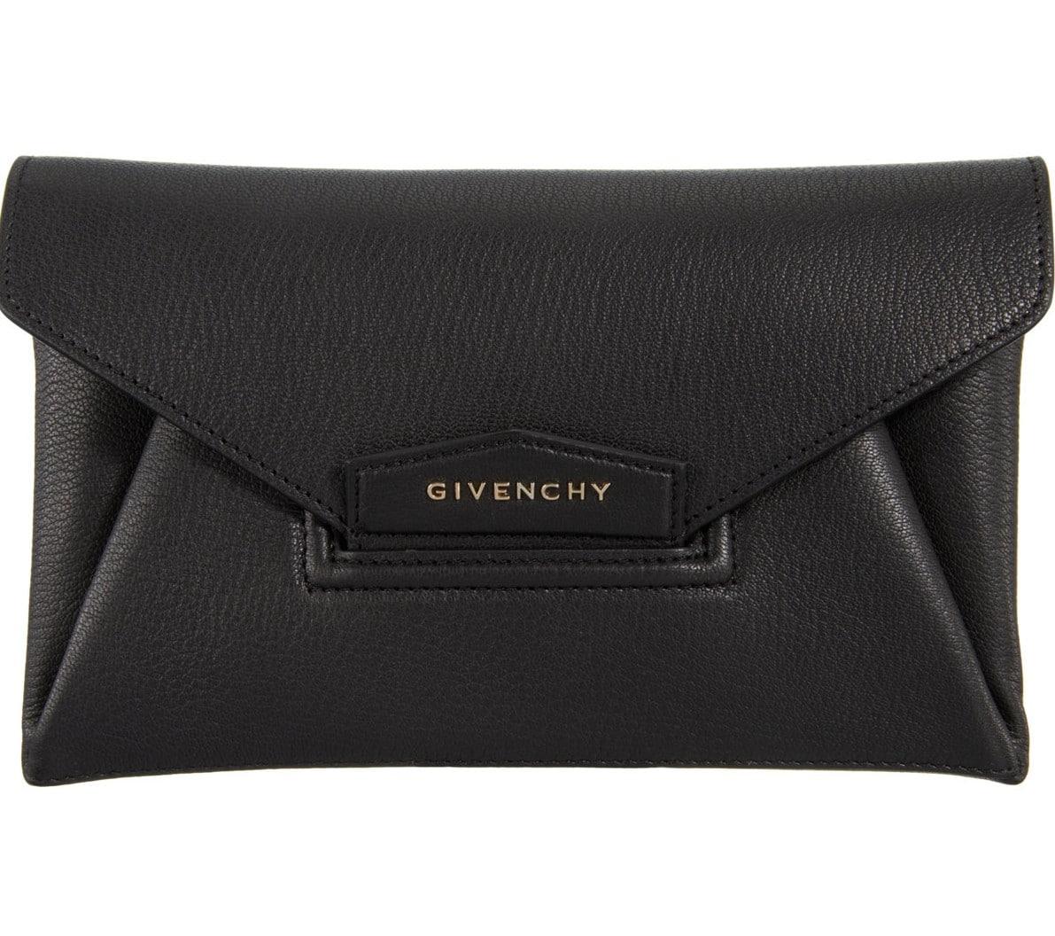284c5f3ce860 Givenchy Black Antigona Envelope Small Clutch Bag