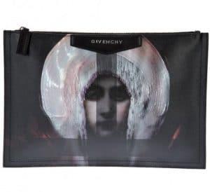 Givenchy Madonna Antigona Zipped Clutch Bag