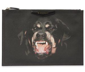 Givenchy Rottweiler Antigona Zipped Clutch Bag
