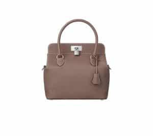Hermes Etoupe Toolbox 26cm Bag