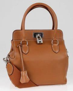 Hermes Gold Toolbox 20cm Bag