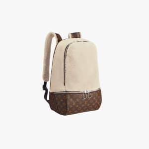 Louis Vuitton Beige Fleece Pack by Marc Newson