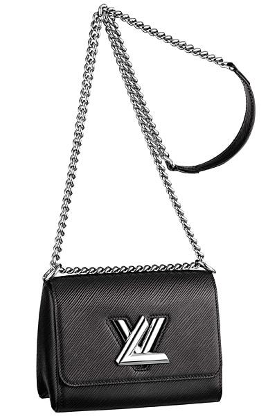 Louis Vuitton Black Epi Twist Bag - Cruise 2015