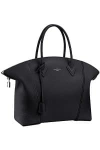 Louis Vuitton Black Soft Lockit Bag - Cruise 2015
