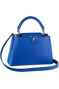 Louis Vuitton Blue Capucines BB Bag - Cruise 2015