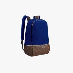 Louis Vuitton Blue Fleece Pack by Marc Newson
