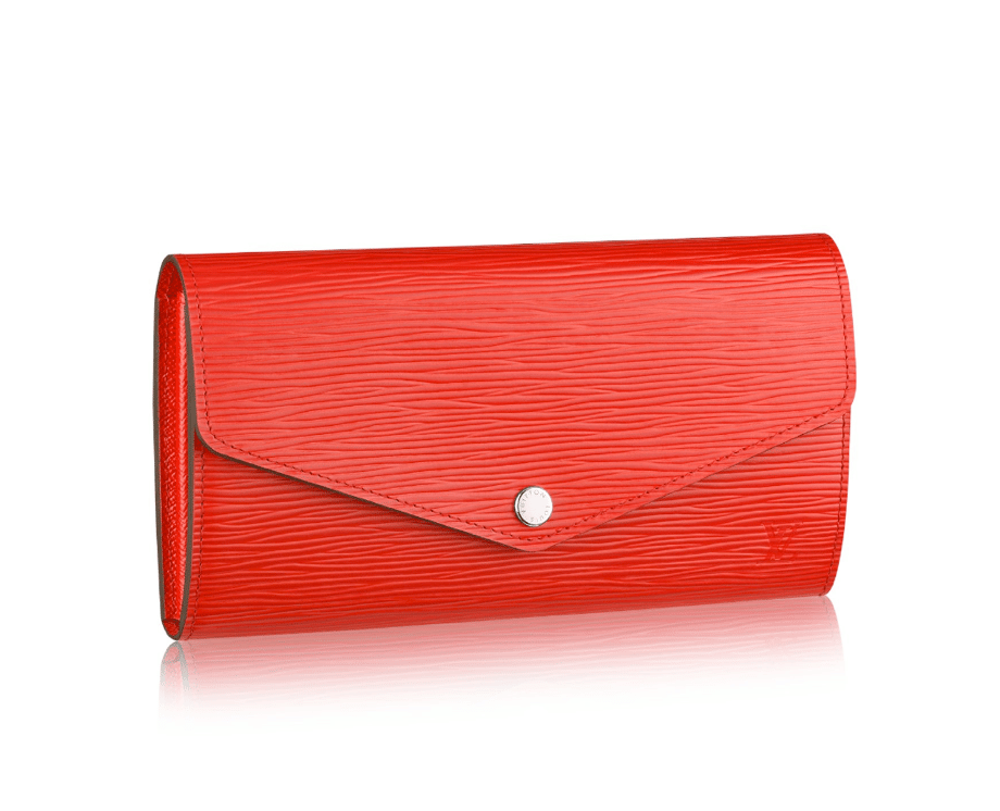 Louis Vuitton Sarah Wallet With More Compartments