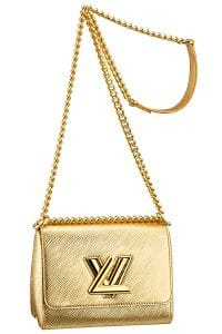 Louis Vuitton Gold Epi Twist Bag - Cruise 2015