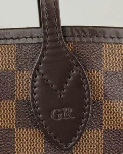 Louis Vuitton Hot Stamping - Neverfull Bag