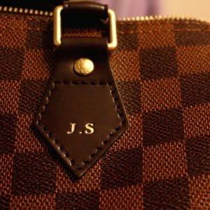 Louis Vuitton Hot Stamping - Speedy Bag