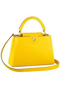 Louis Vuitton Jaune Capucines BB Bag - Cruise 2015