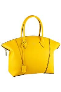 Louis Vuitton Jaune Soft Lockit Bag - Cruise 2015
