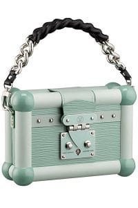 Louis Vuitton Mint Green Petite Malle Bag - Cruise 2015