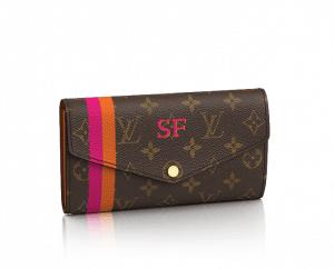 Louis Vuitton Mon Monogram Sarah Wallet