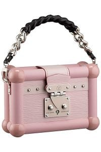 Louis Vuitton Pink Petite Malle Bag - Cruise 2015