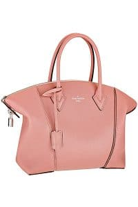 Louis Vuitton Pink Soft Lockit Bag - Cruise 2015
