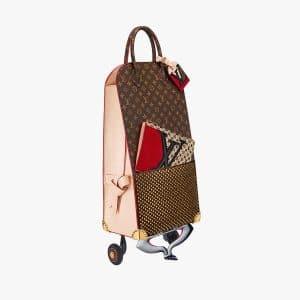Louis Vuitton Shopping Trolley by Christian Louboutin
