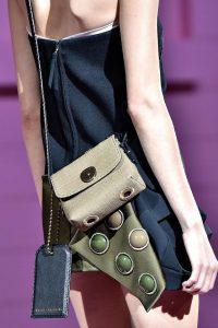 Marc Jacobs Beige/Blue Canvas Mini Bag - Spring 2015