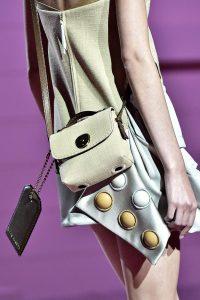 Marc Jacobs Beige/Brown Canvas Mini Bag - Spring 2015