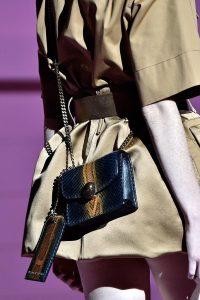 Marc Jacobs Blue/Gold Python Mini Trouble Bag - Spring 2015
