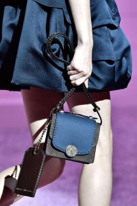 Marc Jacobs Blue/Grey Mini Trouble Bag - Spring 2015