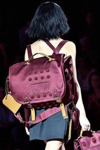 Marc Jacobs Burgundy Backpack Bag - Spring 2015