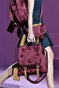 Marc Jacobs Burgundy Messenger Bags - Spring 2015