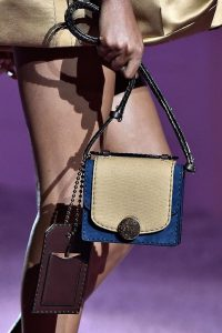 Marc Jacobs Gold/Blue Mini Trouble Bag - Spring 2015